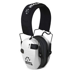 Walker#x27;s Razor Slim Shooter Folding Ear Protection Muffs with NRR of 23dB White $25.99