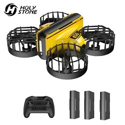 Holy Stone HS450 RC Mini Drone Flip Quadcopter Gift for Kids with 3 Batteries $27.99