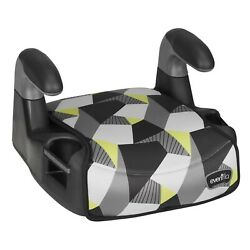 Evenflo Big Kid Sport No Back Booster Seat Lightweight 2 Cup Holders No Ship Cal $29.29