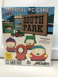 South Park The Official PC Game Big Box 1999 NA version Factory Sealed $174.99
