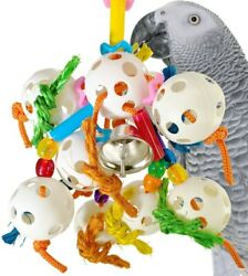 1449 Bubbles Bonka Bird Toy parrot cage toys cages african grey amazon conure $10.99
