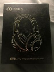 Cowin E9 ANC Wireless Headphones Ear Cup Over The Ear Head Set Gold Color $71.99