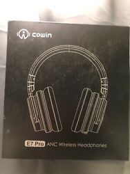 Cowin E7 Pro ANC Wireless Headphones Ear Cup Over The Ear Head Set Pink $44.99