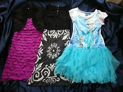 3 girls#x27; party dresses 7 8 $15.00