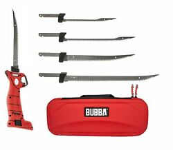 Bubba Lithium Ion Cordless Electric Fillet Knife 4 Blades Li Ion Fishing 1095705 $94.99