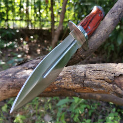 Sheath Fixed Blade Camping Knives Military Bowie Survival Hunting Tactical Knife $15.91