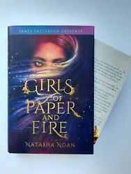 Girls Of Paper And Fire Owlcrate Exclusive Edition with Author Letter amp; Sticker $32.00