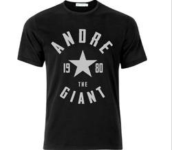 Andre The Giant 1980 T Shirt Funny Birthday Cotton Tee Vintage Gift Men Women $18.99