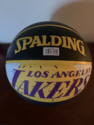 Youth Los Angeles Lakers Spalding Basketball $11.99