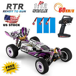 Wltoys 124019 RC Racing Car 60km H 1 12 2.4GHz Off Road RTR 4WD Toy Gift U2M1 $119.31