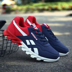 Men#x27;s Casual Trainers Athletic Sneakers Lightweight Sports Running Tennis Shoes $24.99