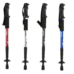New Aluminum Alloy 4 Section 43quot; Adjustable Pair of Hiking Trekking Poles $20.00