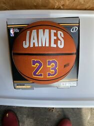 LEBRON JAMES SPALDING Outdoor Basketball 29.5quot; Full Size Lakers 23 $39.96