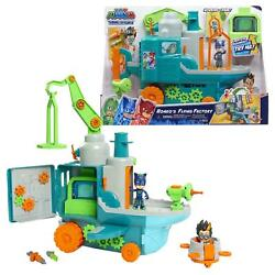 PJ Masks Romer#x27;s Sky Flying Factory Playset Ages 3 Accessories Vehicle NEW $49.99