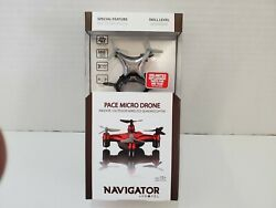 PACE MICRO DRONE Indoor Outdoor Wireless Quadrocopter. NAVIGATOR by Propel B $18.99