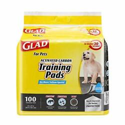 Glad for Pets Black Charcoal Puppy Pads Puppy Potty Training Pads That $18.89