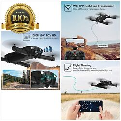 Drones with 1080P HD Camera for Adults JJRC Foldable Drone with 2 Batteries Op $92.29