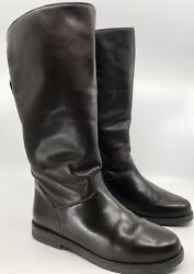 Canada North Womens Boots 8 Dark Brown Leather Waterproof Fleece Lined Good Cond $46.99
