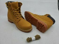 TF Star Size 12 Mens Work Boot Premium Well Made Leather amp; Extra Set Of Laces $59.99