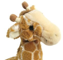 Kohls Cares and Animal Planet Giraffe 12quot; Brown and Gold Plush 2006 $19.96