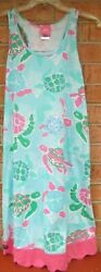 Womens Size M L Simply Southern Tank Beach Cover Up $9.50