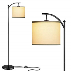 Addlon Floor Lamp for Living Room with Lamp Shade and 9W LED Bulb Modern Lamp $53.09