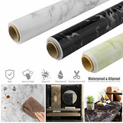 Marble Contact Paper Self Adhesive Peel amp; Stick Wall Sticker Kitchen Countertop $6.36