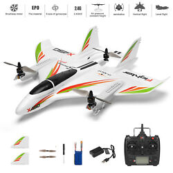 White WLtoys XK X450 RC Airplane Brushless 2.4G 6CH 3D 6G LED Fixed Wing RTF USA $117.99