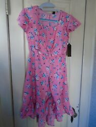 Star Ride Girls High Low Dress Size 7 8 Small NEW WITH TAGS $11.95