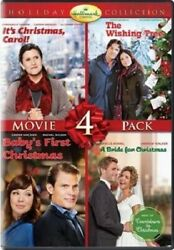 HALLMARK CHANNEL HOLIDAY COLLECTION 4 PACK V5 DVD Carol Wishing Tree Baby Bride $10.78
