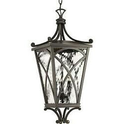 Progress Lighting Cadence Collection Outdoor Oil Rubbed Bronze Hanging Lantern $170.99