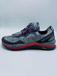 Merrell Mag 9 Hiking Sneaker Outdoor Trekking Trail Shoes Gray Sz. 9 New $69.99