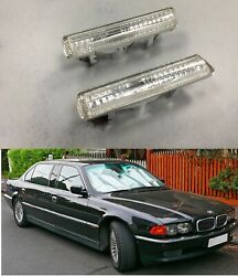 Crystal Side Marker Indicator Light Lamp FOR #x27;1995 #x27;2001 BMW E38 7 Series Clear $55.00