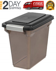 Airtight Storage Container Large Bin For Pet Cat Dog Food Bird Seeds Rolling Box $28.99