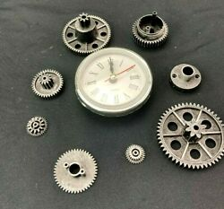 Assorted Steampunk Gears Cogs Battery Clock DIY Set of 9 Assorted Vintage Pieces $9.99