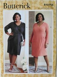 Butterick 6781 Womens Plus Dresses Sewing Pattern Sz 18W 24W $3.99