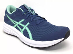 Asics Patriot 12 Womens Size 9.5 B Blue Green Running New In Box Next Day Ship $49.99
