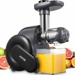 Aicok Slow Masticating Juicer with Quiet Motor AMR519 $69.95
