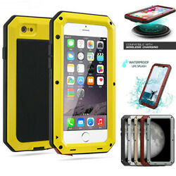 for iPhone 12 11 Pro Max Aluminum Gorilla Glass Metal Case Cover Tempered Glass $16.88