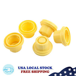5x Replacement YELLOW SPOUT CAP Top For BLITZ Fuel GAS CAN 900302 900092 U9 $7.35