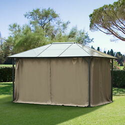 Outsunny Gazebo Replacement Sidewalls 4 Pcs Privacy Wall for 10' x 12' Canopy $94.99