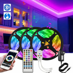 65.6ft Led Strip Bluetooth 5050 RGB Tape Music Sync Light Decor for Wall Bedroom $27.53