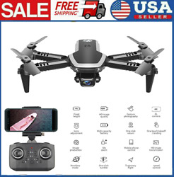 CSJ S171 PRO Drone WIFI 4K HD Camera 3 Batteries Foldable RC Quadcopter for Kids $41.22