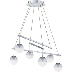 Momentum Chandelier Steel Polished Chrome Finish with Clear Crystal Chip Glass $524.79