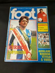 Foot magazine #7 of 1985 Eurico FC Porto in cover soccer football vintage $39.99