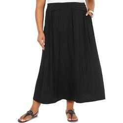 Style amp; Co. Womens A Line Casual Maxi Skirt Plus BHFO 4921 $9.99