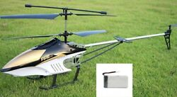 3.5ch 80cm Sup antifail helicopter With Remote Control very durable outdoor fly $63.57