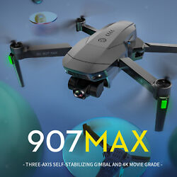 SG907Max GPS Drone with 4K Camera Foldable Drone GPS Return $127.50