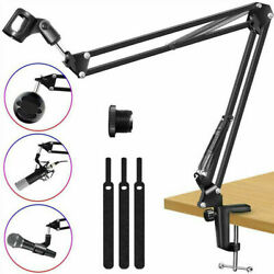 Microphone Desk Arm Mount Stableamp;Anti slip Cantilever 360° Rotatable Bracket US $17.09