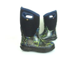 Bogs Boots Youth K Classic Axel Winter Rain Insulated Waterproof Boys 12 A81 $30.39